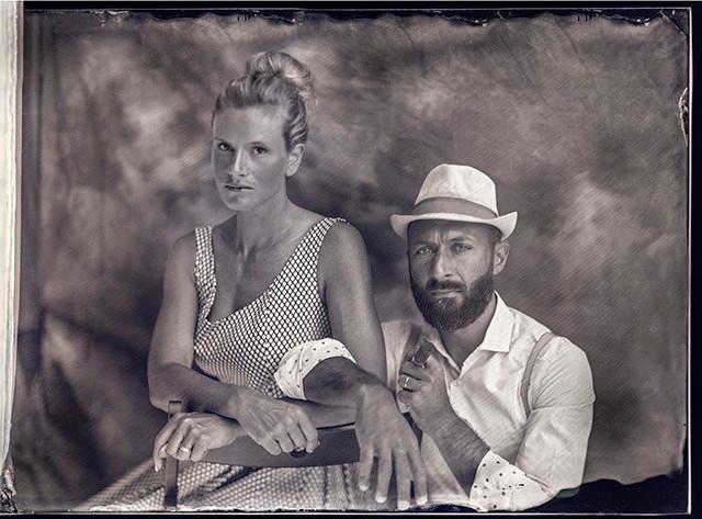 Ritratto di Luca Bresciani e signora
