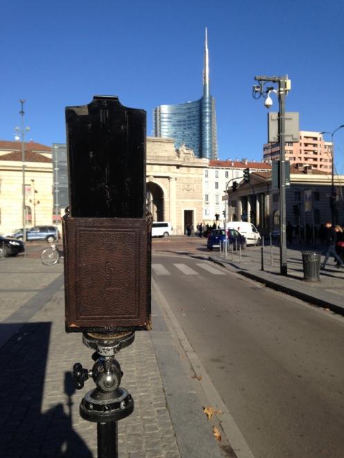 Porta Garibaldi e Goerz da Iphone